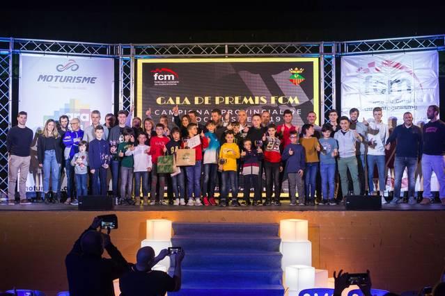 Aitona acull la gala de lliurament de premis del Campionat Provincial de Motociclisme