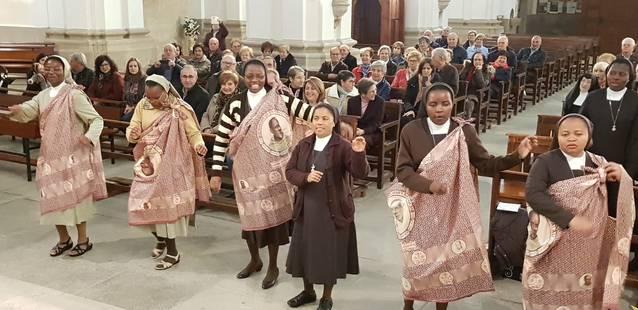 Aitona celebra l'eucaristia del Beat Francesc Palau