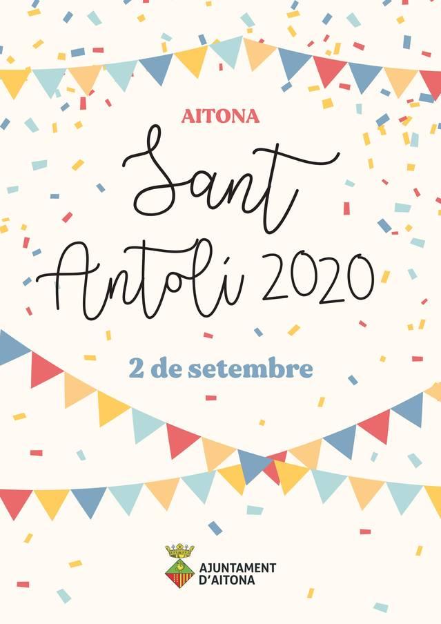Aitona celebrarà aquest 2020 un Sant Antolí reduït i adaptat a la Covid-19