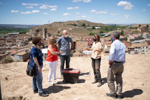 Aitona habilitarà un mirador al Castell amb vistes al poble i a la vall