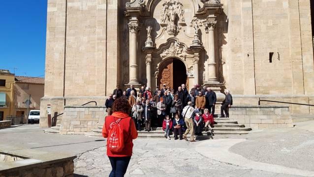 Aitona ofereix rutes paral·leles a la floració per descobrir el patrimoni històric i religiós del municipi