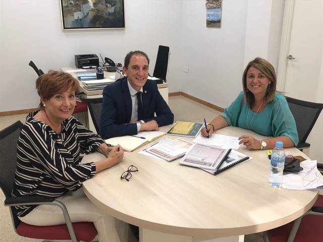 Aitona rep la visita del subdelegat del govern