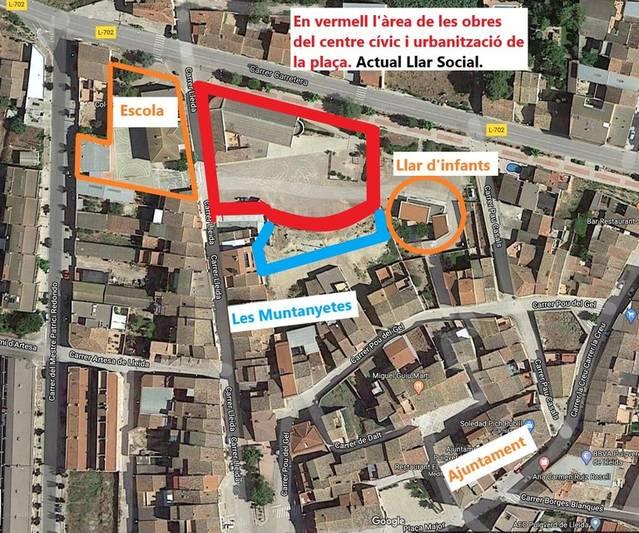 Ajut de 370.000 euros per reconvertir la Llar Social de Puigverd de Lleida en un centre cívic i de serveis a l'empresa