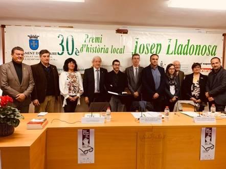 Albert Royo guanya el 30è Premi Josep Lladonosa amb un treball sobre la premsa lleidatana entre 1898 i 1939