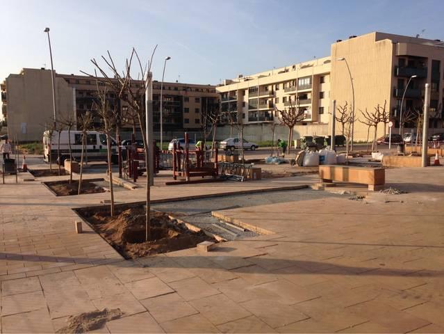 Alcarràs instal•la un circuit d'exercici per a la gent gran al parc de la vila