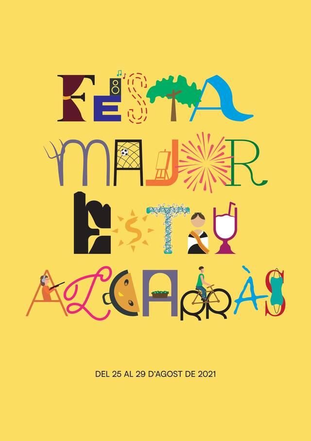 Alcarràs tria el cartell de la Festa Major d'estiu