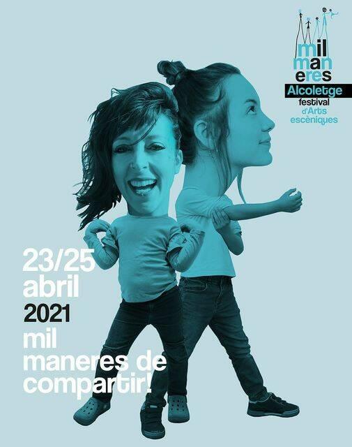 Alcoletge celebrarà del 23 al 25 d'abril la segona edició del Mil Maneres Festival de les arts escèniques