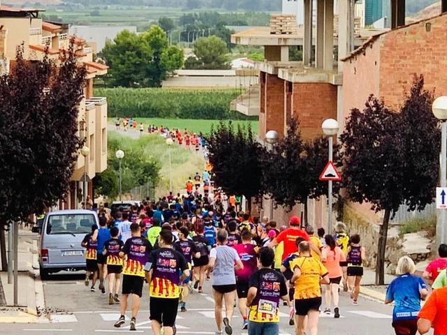 Alcoletge suma 800 participants en la Cursa dels Tres Tossals