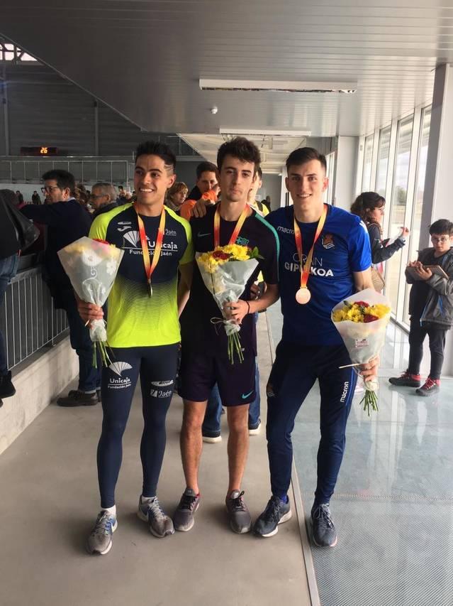 Aleix Porras es proclama campió d'Espanya sub-23 en 400m