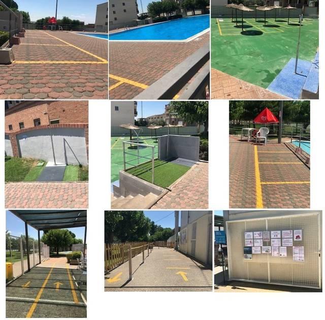 Alguaire decideix mantenir obertes les piscines malgrat la nova situació de confinament del Segrià i de l'obligatorietat de l'ús de mascaretes