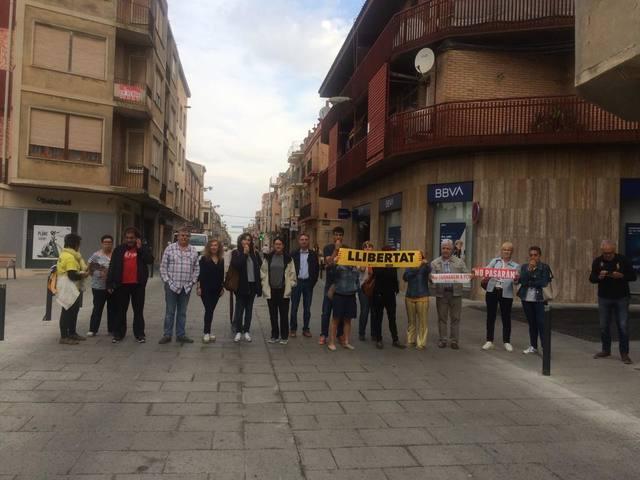 Almacelles celebra un ple extraordinari per rebutjar la sentència del procés