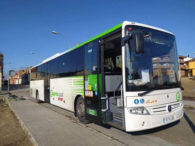 Almacelles estrena avui el servei Bus Exprés amb Lleida ciutat, que ofereix 28 viatges diaris