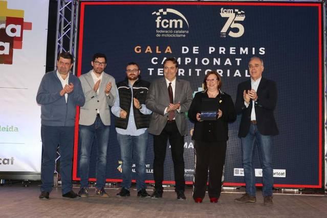 Almacelles ha acollit la Gala del Campionat Provincial de Motociclisme 'Ara Lleida'