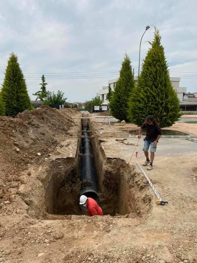Almacelles inicia el gran col·lector que evitarà inundacions al centre urbà