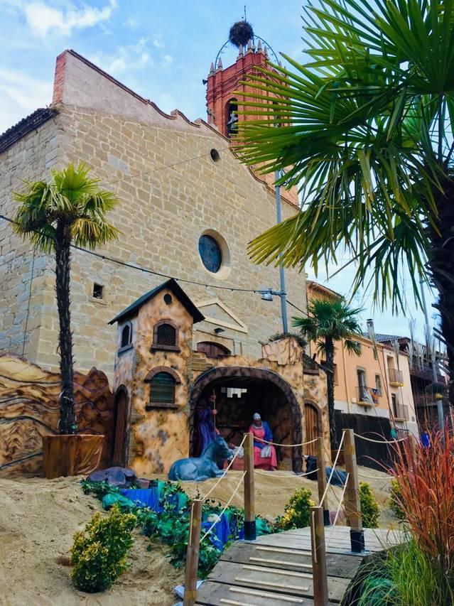 Almacelles obre les llums de Nadal i el Pessebre Monumental