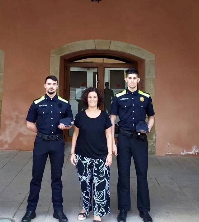 Almacelles reforça la plantilla de la Policia Local amb dos agents interins més