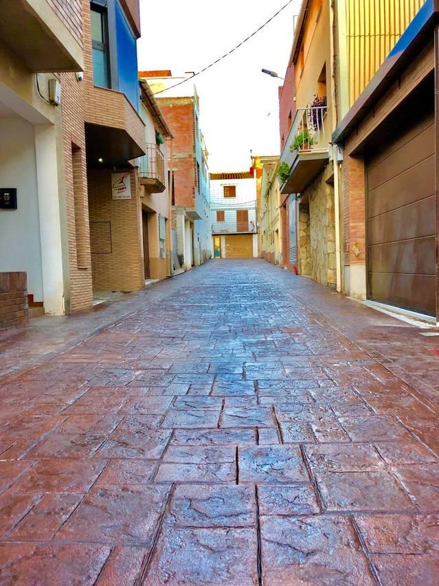 Almacelles urbanitza la Travessia de Sant Roc