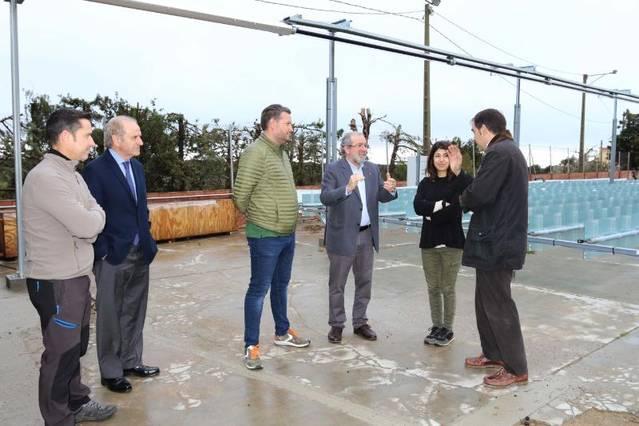 Almatret posa en valor el Parc Eòlic i el projecte ALMIA