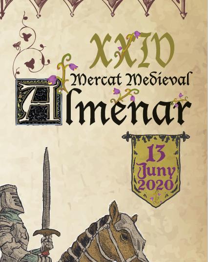 Almenar celebra dissabte el tradicional Mercat Medieval