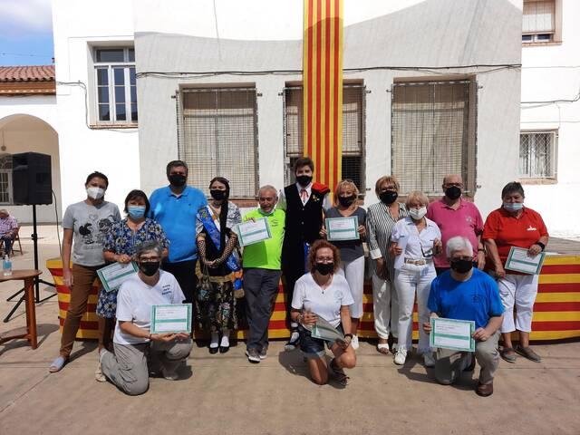 Almenar conclou la 16a Volta Comarcal-Sardanes a la Fresca amb una entrega de diplomes i una ballada de la Bellpuig Cobla