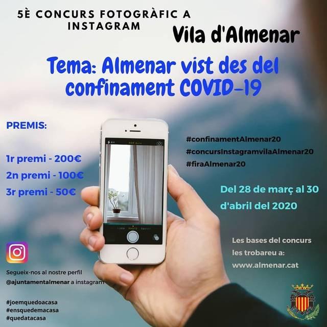 Almenar convoca el seu 5è Concurs de Fotografia
