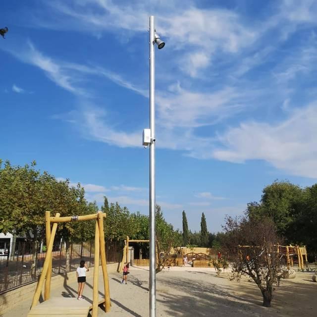 Almenar instal·la càmeres de videovigilància en diferents indrets del poble