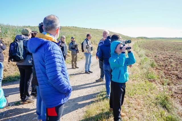 Almenar promou el turisme ornitològic