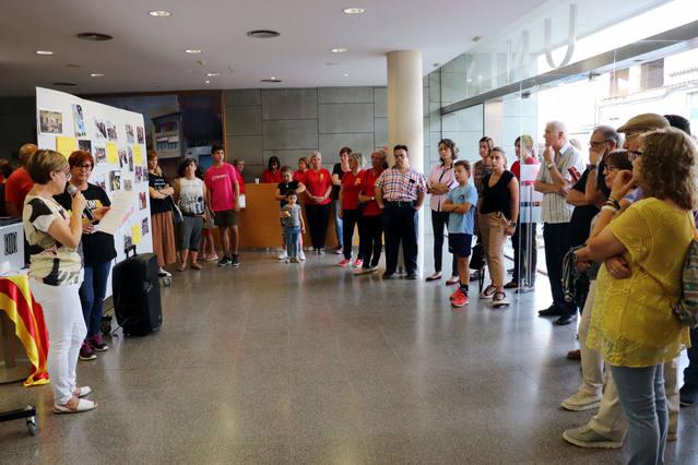 Alpicat commemora els dos anys dels fets de l'1 d'octubre