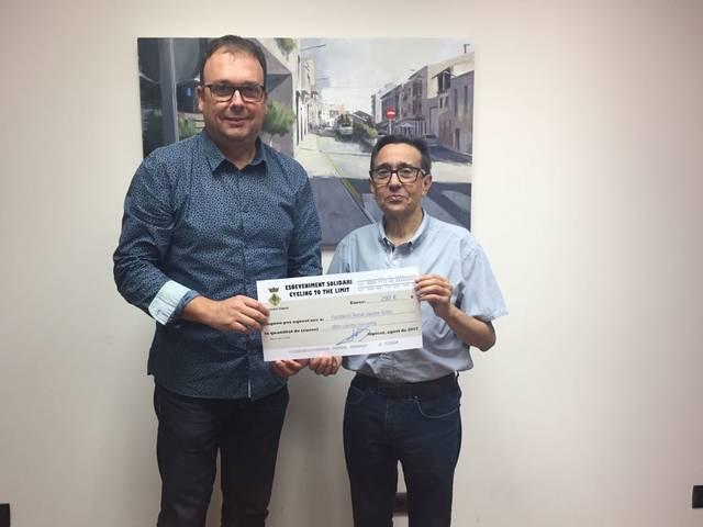 Alpicat dona suport a la Fundació Renal Jaume Arnó
