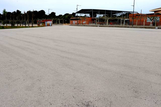 Alpicat millora l'aparcament de la zona de l'escola i del pavelló