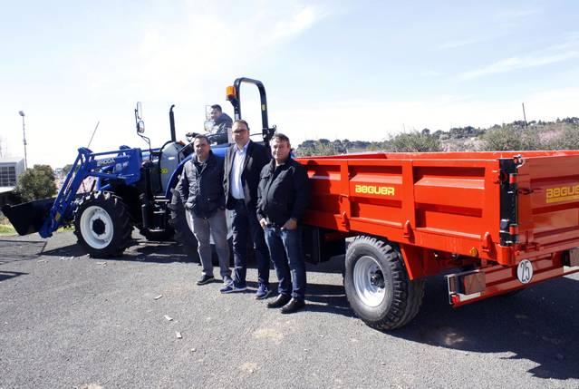Alpicat renova la maquinària de la brigada municipal