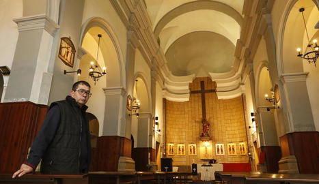 Alpicat reobre el temple i inicien les obres a l'església d'Almenar