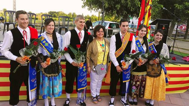 Anna Nadal i Jordi Barberà, pubilla i hereu del Segrià