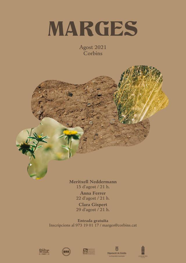 Arrenca el dia 15 amb Meritxell Neddermann el festival 'Marges' de Corbins