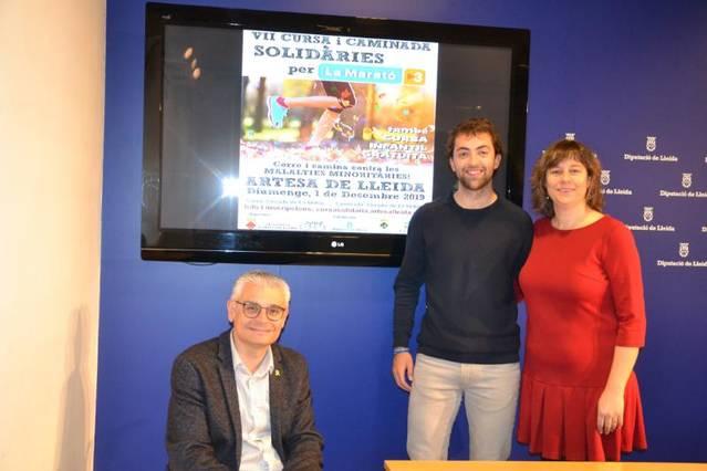Artesa de Lleida organitza la cursa i la caminada més solidaria en benefici de la Marató de TV3