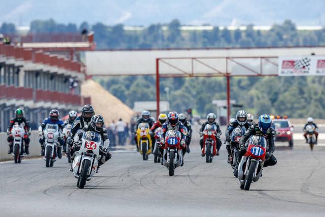 El Campionat del Mediterrani de Velocitat i el Campionat de Catalunya de Velocitat Clàssiques Asfalt visiten Alcarràs