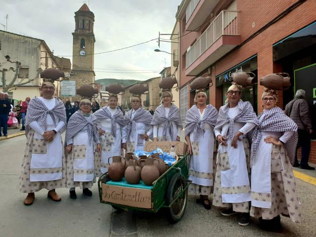 Carnaval a tota màquina a La Granja d'Escarp