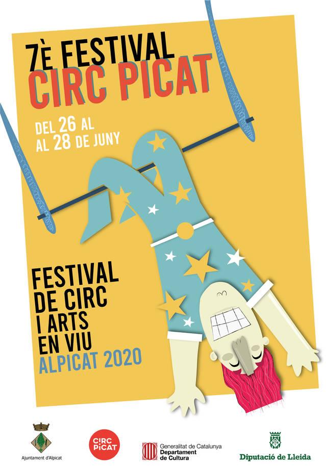 Circ Picat ja té cartell per a la seva setena edició, que se celebrarà del 26 al 28 de juny