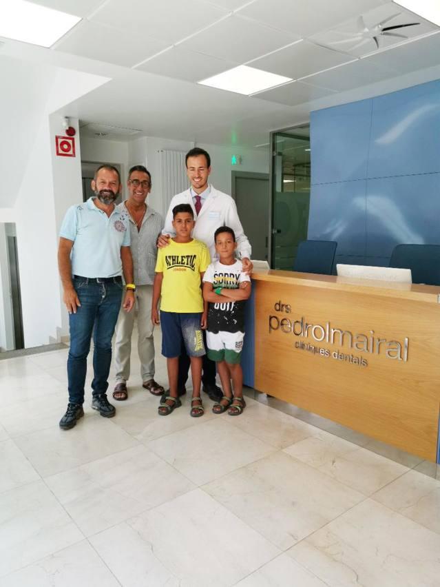 Comencen les visites mèdiques dels infants sahrauís