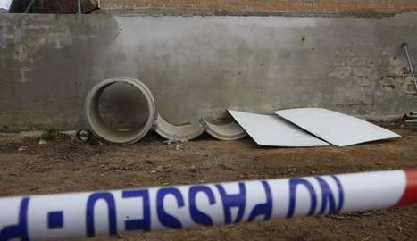 Condemnat a pagar 73.593 € per no protegir un tub que va aixafar una nena a Sunyer