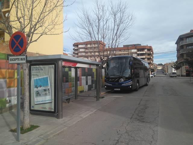 Creix un 2,75% el nombre de passatgers de bus entre Almacelles i Lleida i viceversa