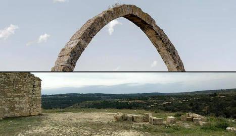 Denuncien la demolició de l'Arc d'Adà de Llardecans