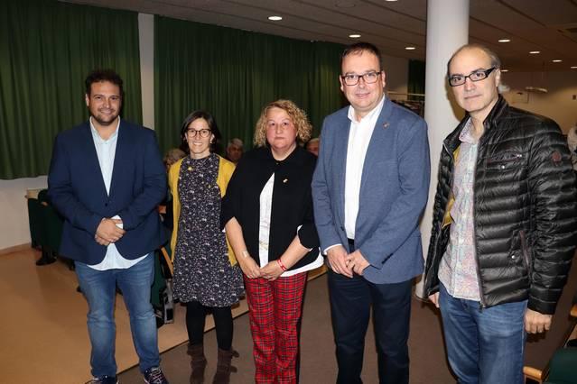 Divina Farreny inaugura la 16a edició de les Jornades Sanitàries d'Alpicat davant un auditori ple a vessar
