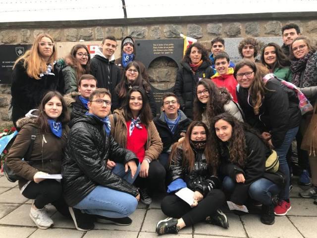 Doble homenatge als deportats d'Almenar a Mauthausen