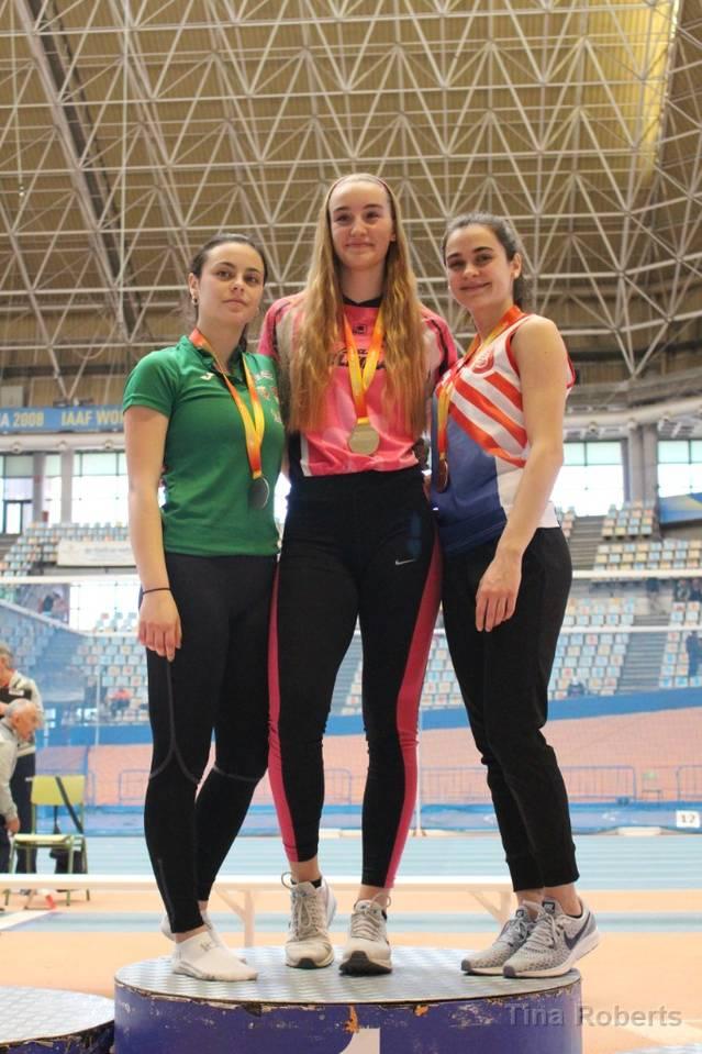 Dues atletes del Lleida UA, campiones d'Espanya