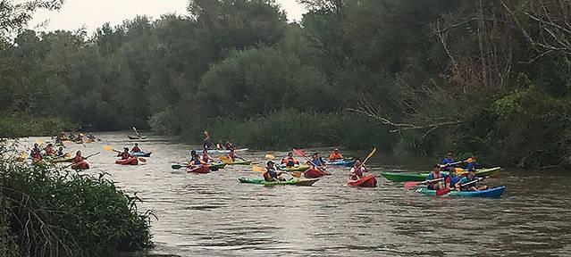 El 3r Descens Popular en Piragua del Baix Segre es farà el 19 d'agost