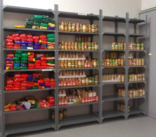 El Banc d'Aliments trasllada a l'Escola Bressol La Lluna el seu centre d'emmagatzematge i distribució d'aliments