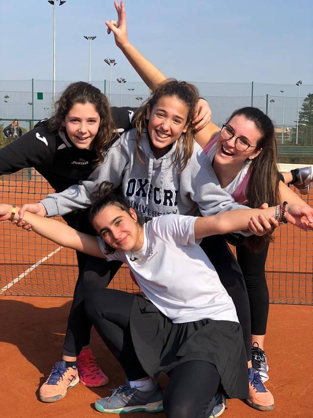 El cadet femení del CT Lleida a la final del Campionat de Catalunya