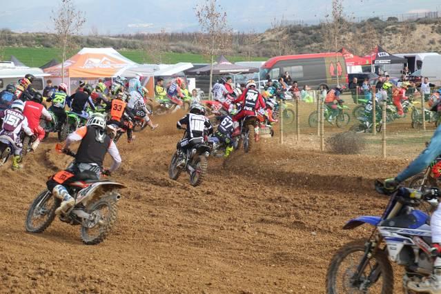 El circuit d'Almenar ha acollit la segona prova del Campionat de Catalunya de motocròs