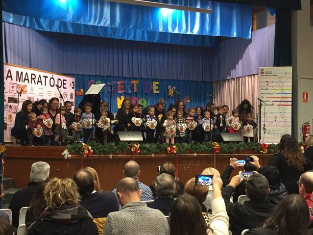 El Concert de Nadal de Rosselló, tot un èxit
